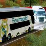 Comil Invictus DD do Real Madrid