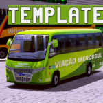 Skin Template do Micro Ônibus - Download (Skin World Bus)