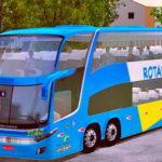 Skins World Bus Driving G7 1800 Viação Rotas