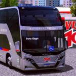 Skin Viação 1001 - Busscar Vissta Buss DD