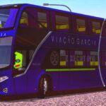 Skins Vissta Bus DD - Viação Garcia